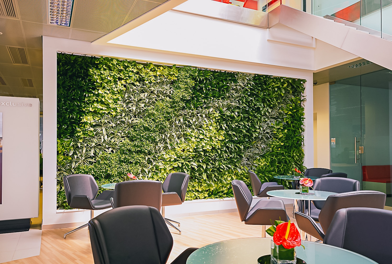 décor végétalisé à Lyon