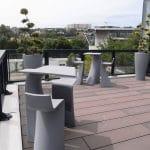 aménagement végétal pour terrasse extérieure