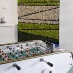 mur végétal a base de bambou et de mousse