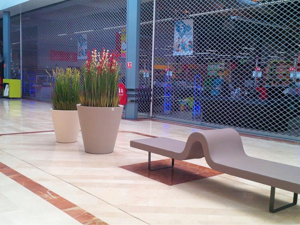 décor végétal intérieur pour auchan caluire