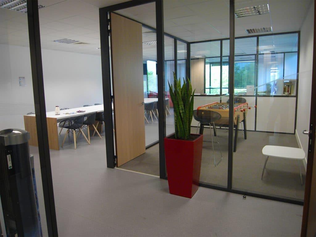 paysagiste intérieur aménagement open space d'entreprise