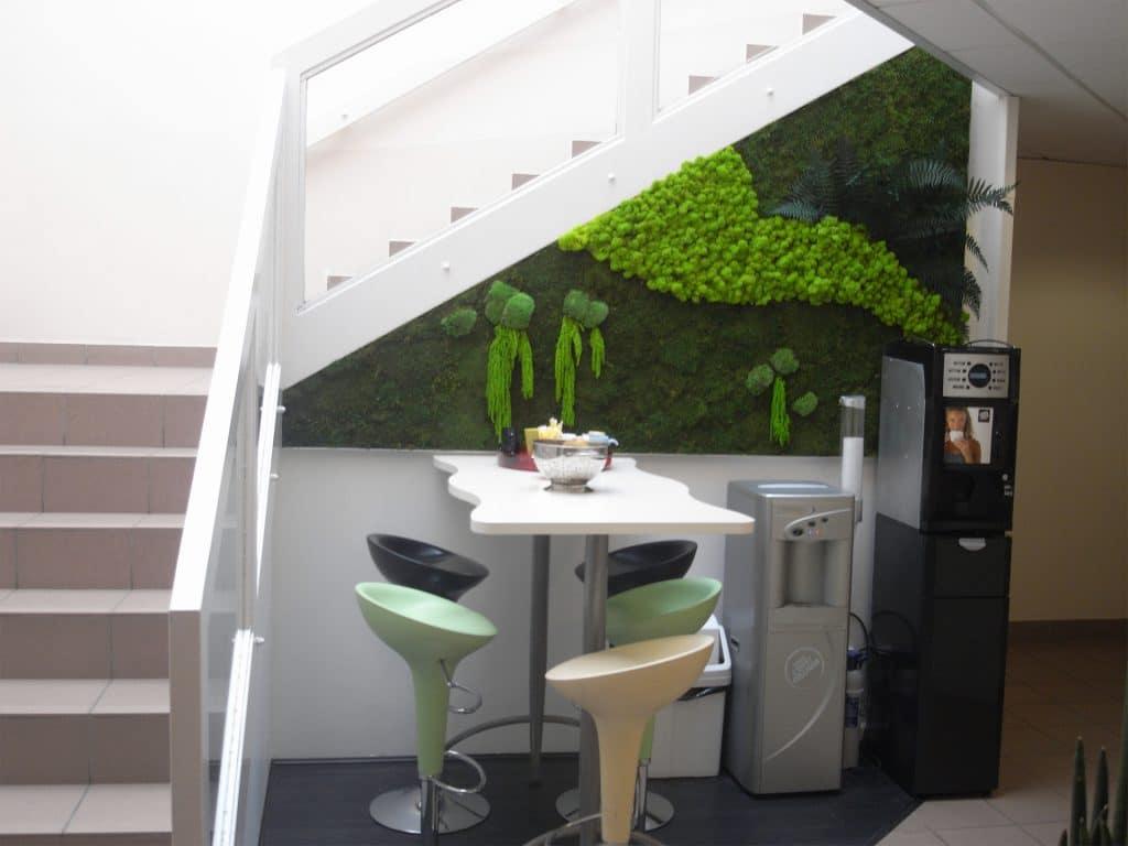 mur végétal stabilisé sans entretien