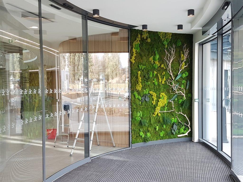 mur végétal intérieur