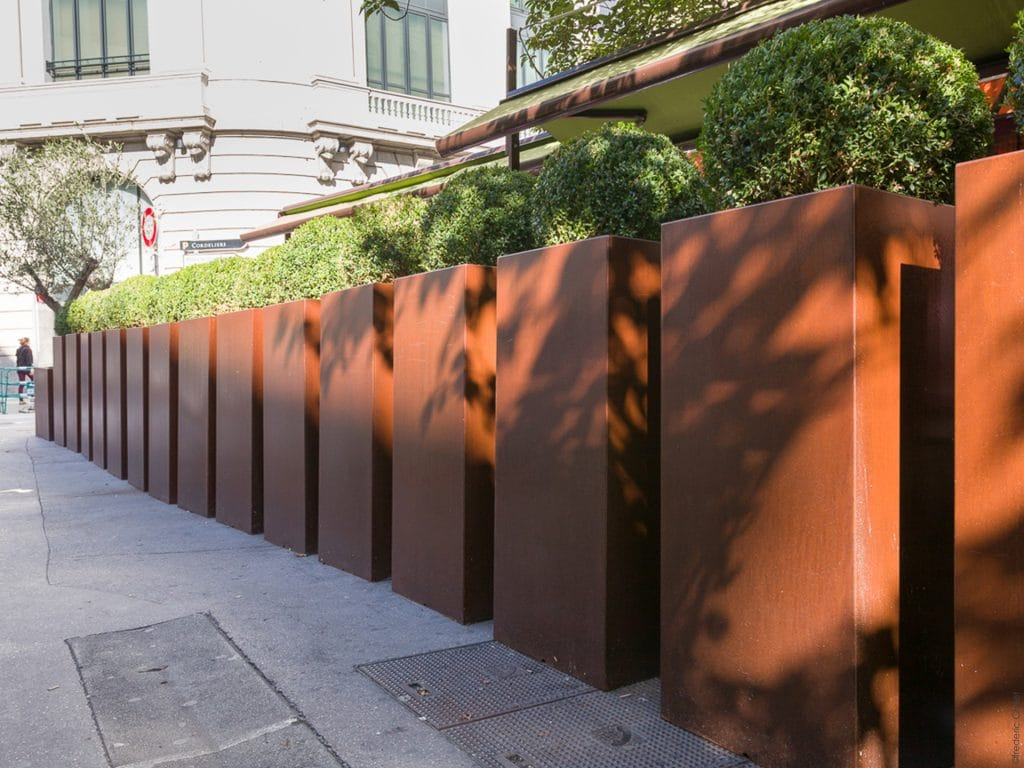idée aménagement terrasse bar