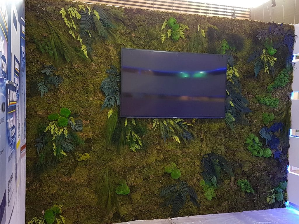 Idée de mur végétal stabilisé
