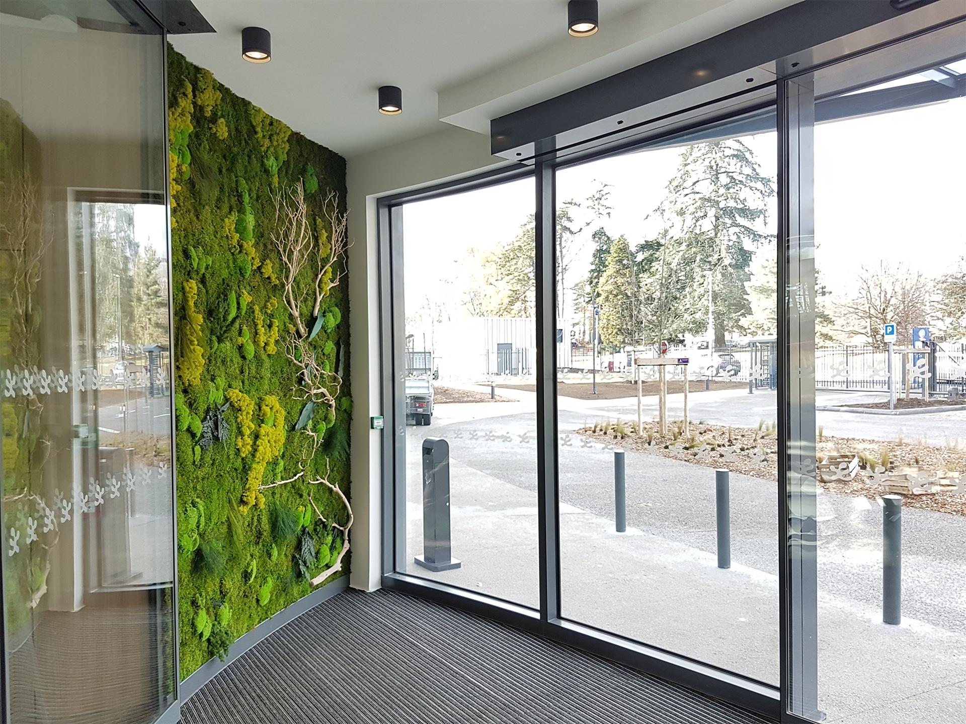 Envie d 39 un mur v g tal dans vos bureaux green prospect - Immeuble vegetal ...