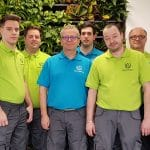 équipe paysagiste intérieur green prospect