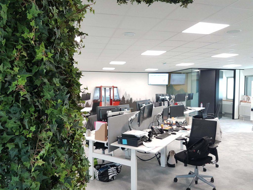 aménagement végétal open space grenoble