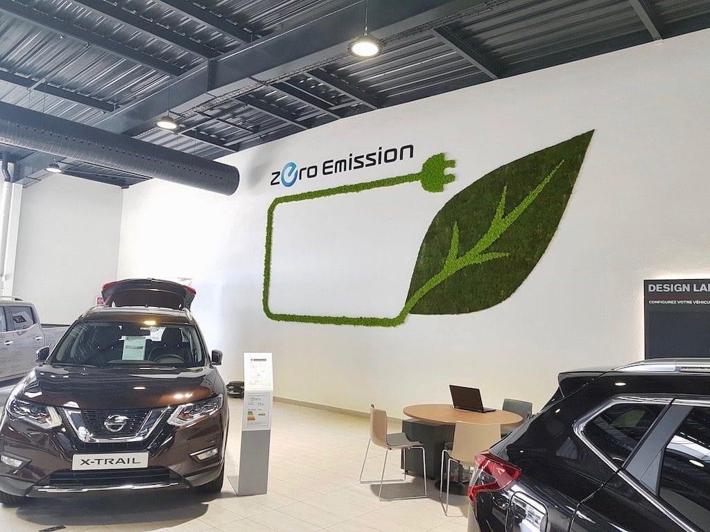 aménagement végétal intérieur logo végétal